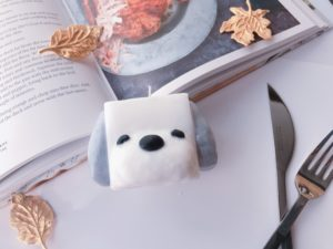 Puppy candle