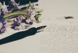 writing letter
