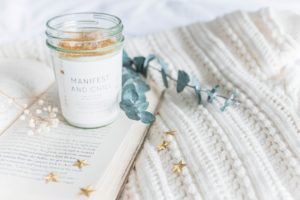 books candle