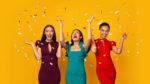 Three Multiethnic Girls