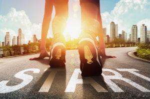 start people running